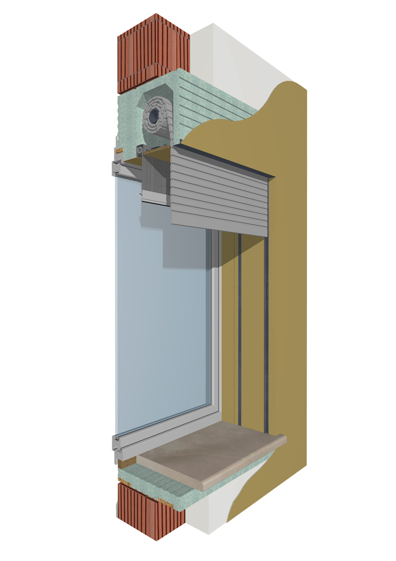 Monoblocchi termoisolanti per l 39 isolamento delle finestre - Frangisole esterni per finestre ...