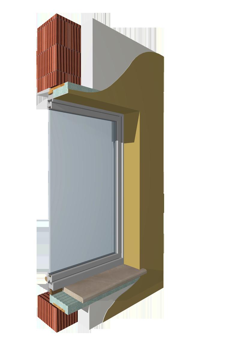 Monoblocchi termoisolanti per l 39 isolamento delle finestre for Finestre apertura alla francese
